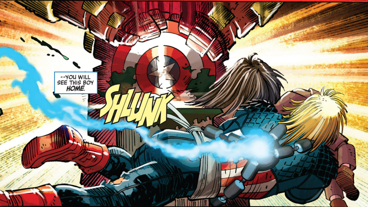 The Last American — Captain America #3Review