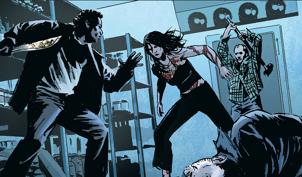 Forever Changing — Lazarus #1 Review