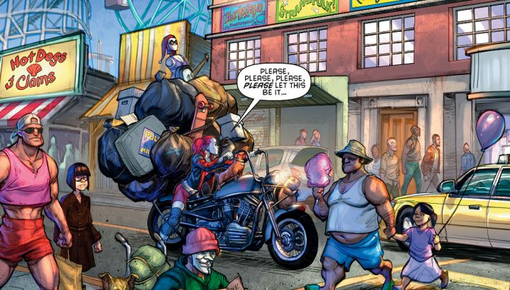 [Comic Review] Moving Day — Harley Quinn#1