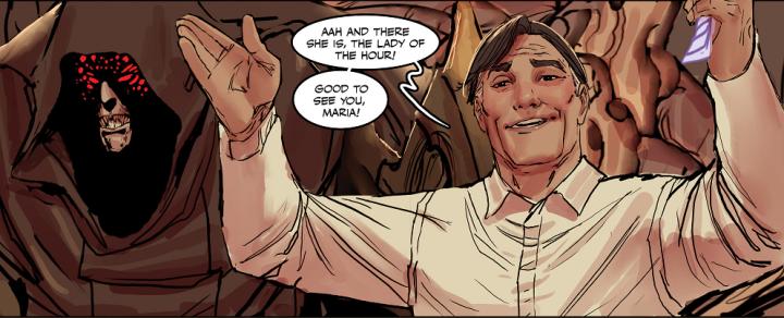 [Comic Review] Factions — Death Vigil#4